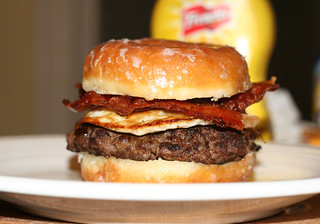 The Lady's Brunch Burger - Side View | by Marshall Astor - Food Fetishist