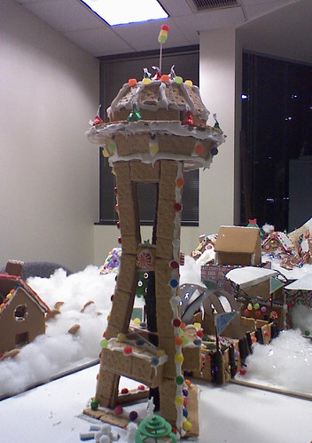 Gingerbread Houses - Space Needle | by heath_bar