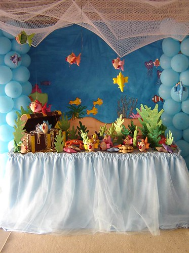 Under the Sea Party | by Verusca's Cake