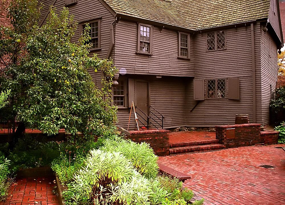"""Boston - Paul Revere House """"Backside"""""""