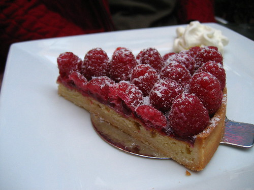 Raspberry Almond Torte Cake Recipe