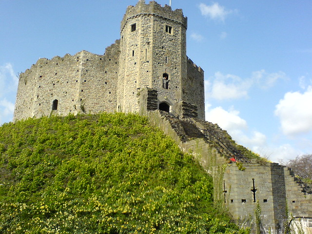 The Keep in Cardiff by Flckr CC Karl Baron