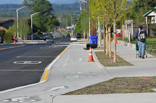 Cully Blvd cycle track-15