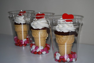 Valentine Cones | by Sweet Art Shop {Gaby}