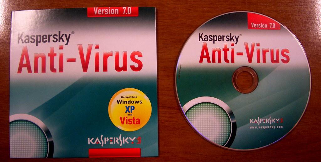 Kaspersky Antivirus OEM CD