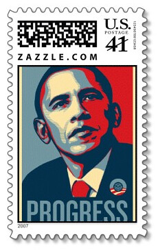 Obama Postage Stamp | by Don Park