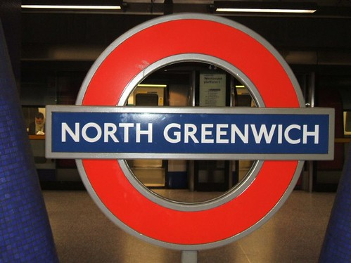 north greenwich tube roundel flickr photo sharing. Black Bedroom Furniture Sets. Home Design Ideas