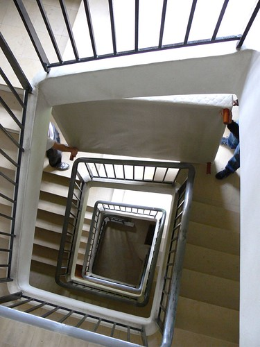 Cage d 39 escalier flickr photo sharing - Amenagement cage d escalier ...