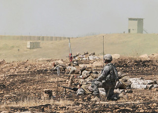 Support by fire | by The U.S. Army