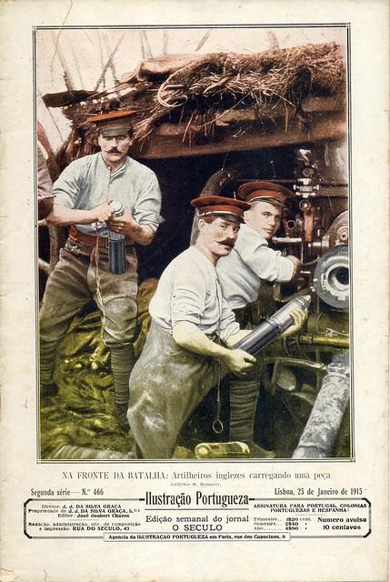 Ilustração Portugueza, No. 466, January 25 1915 - cover