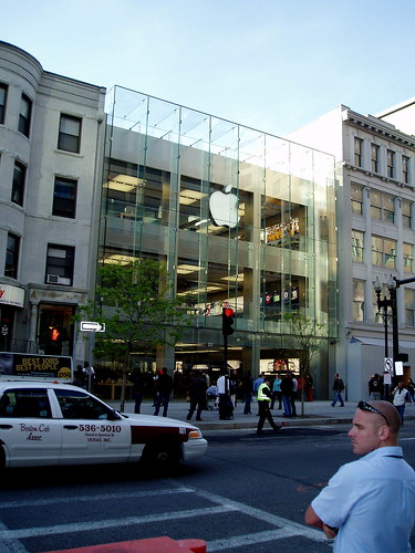 Apple Store - Boston - Almost Open | by BostonCityWalk
