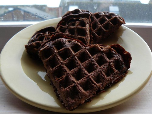 Chocolate Chip Brownie Waffles | by Bonnie_rabbits