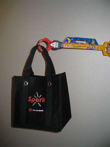 spark bag (robot arm not included) | by Nora7