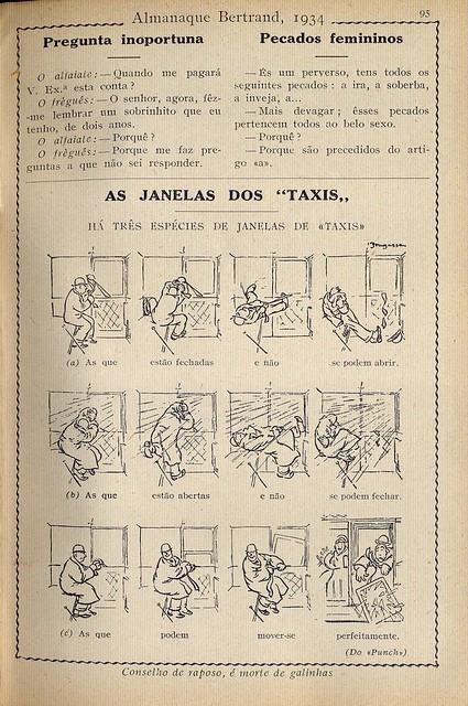Almanaque Bertrand, 1934 - Cab windows 5