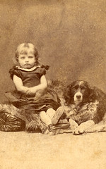 Victorian child with dog | by lovedaylemon