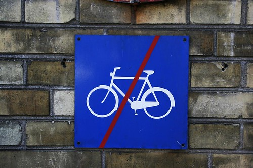 No Cycling Here, Please | by Mikael Colville-Andersen