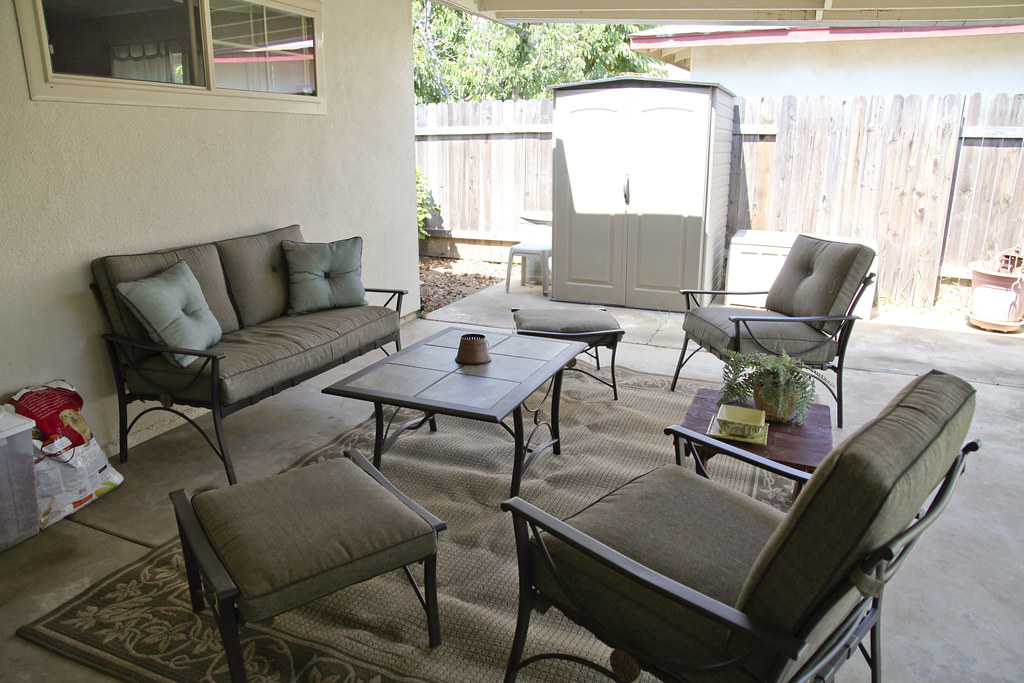 The Finished Patio