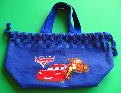 Cars bento lunch bag for child | by Biggie*