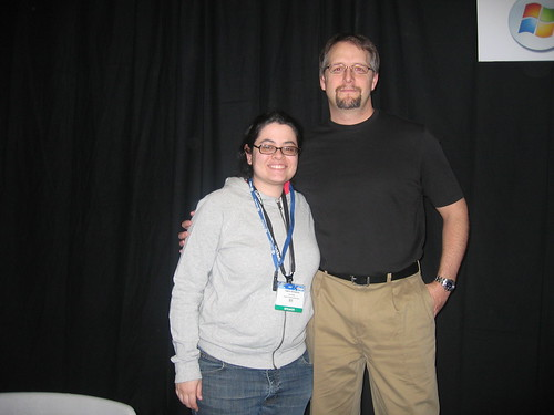 Tamar Weinberg and Brian Clark - Pubcon Vegas 2007 | by Tamar Weinberg