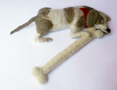 MY bone | by Textile Art/Needle Felting
