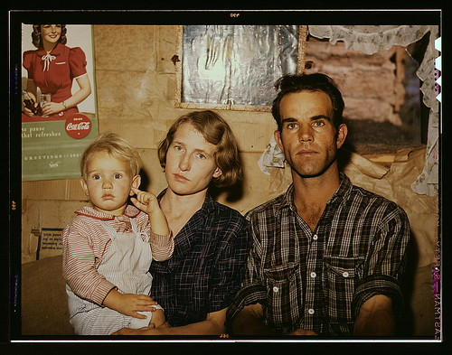 Jack Whinery, homesteader, with his wife and the youngest of his five children, Pie Town, New Mexico  (LOC) | by The Library of Congress