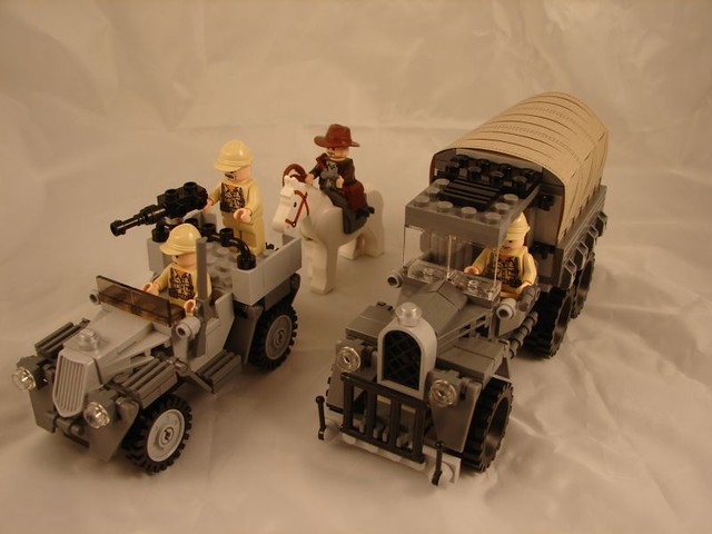 Lego Indiana Jones Set No 7622 Flickr