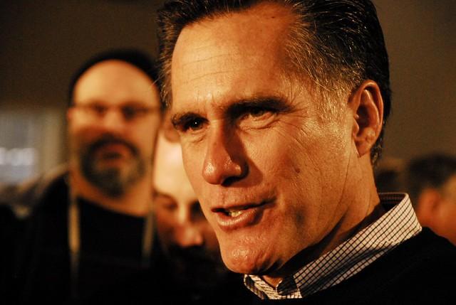 Mitt Romney visits Peterborough 2