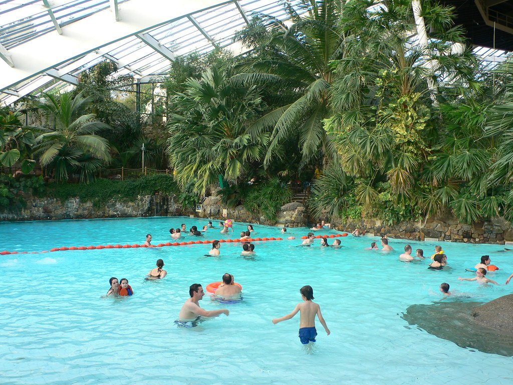 Pool dome at Centerparcs,