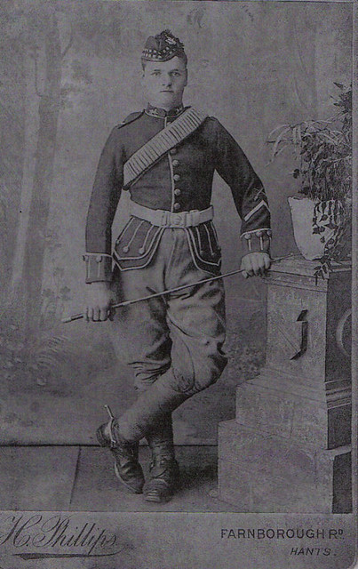 Wm Harvey Set Photo 1: William Harvey in Uniform