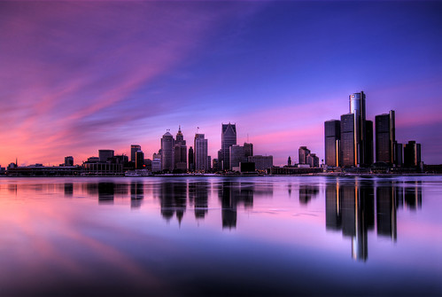 Detroit Skyline HDR | by Rob Terwilliger