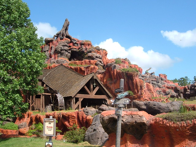 Splash Mountain Magic Kingdom Walt Disney World