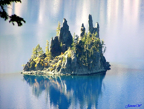 Phantom Ship Crater Lake, Oregon | by mousenana2002...