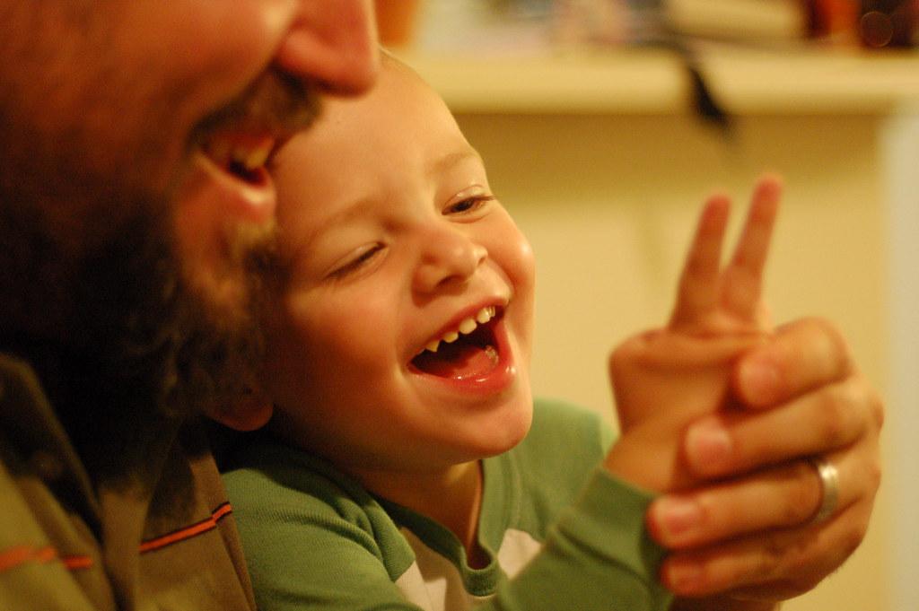 Sean Teaches His Son Peace