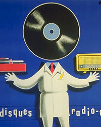 Vintage European Record Poster | by artcafe2008