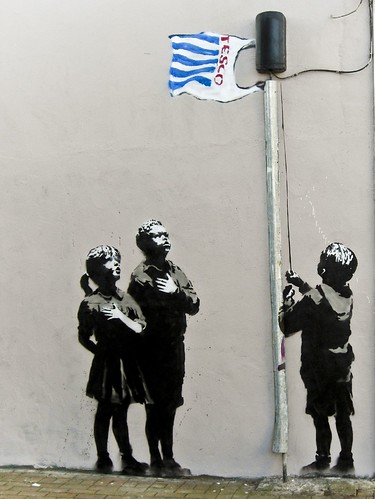 Tesco generation - Banksy | by amyeee