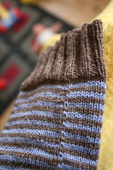 Stashbuster Striped Socks | by ElinorB
