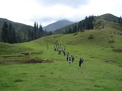 Race at paya, Mountain Marathon Pakistan by Dr. Shahid-Burewala Trekkerz (What Next)