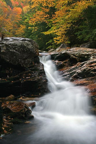 Vermont Autumn Colors and Small Waterfall | by ianseanlivingston