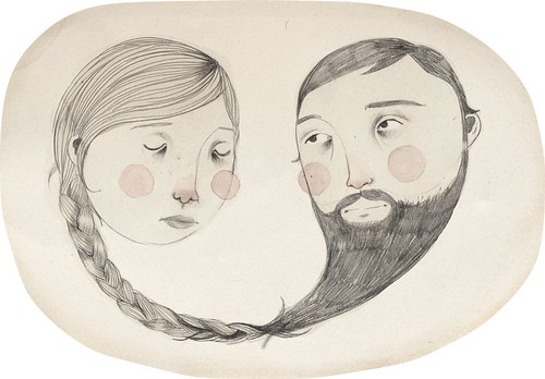 ladybeard. | by Clare Owen Illustration