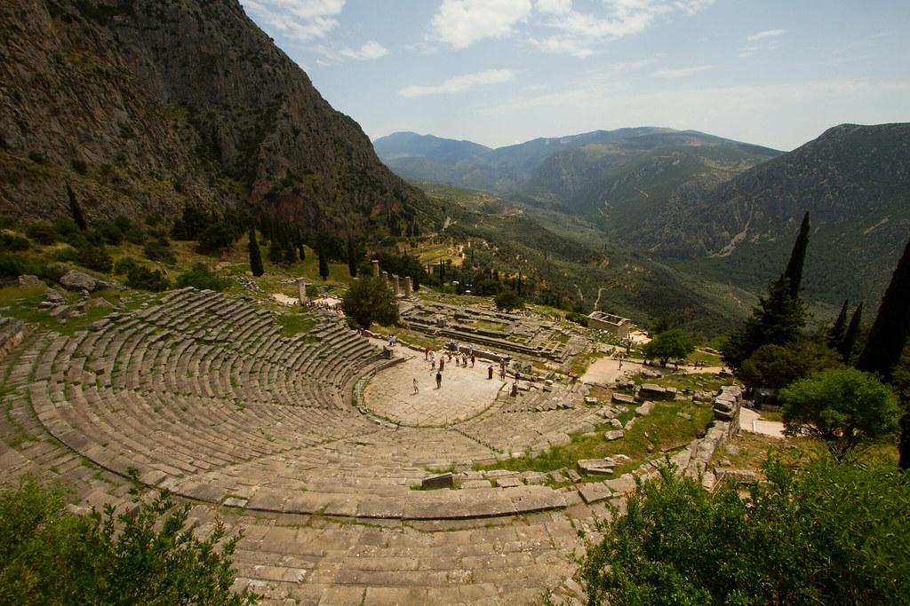 Delphi -- theater