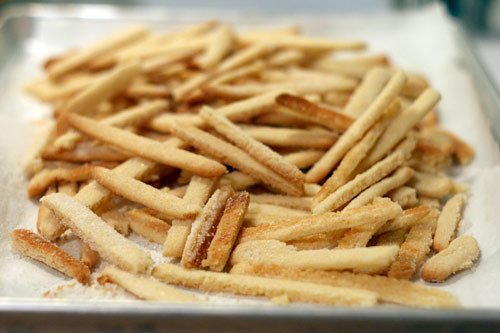 Sugar Cookie French Fries | by Bakerella