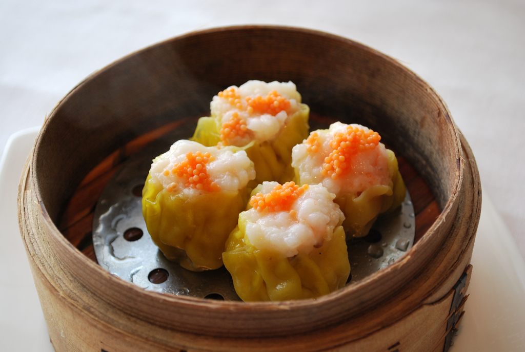 Sui mai dumplings, image: Malcolm Moore, CC.