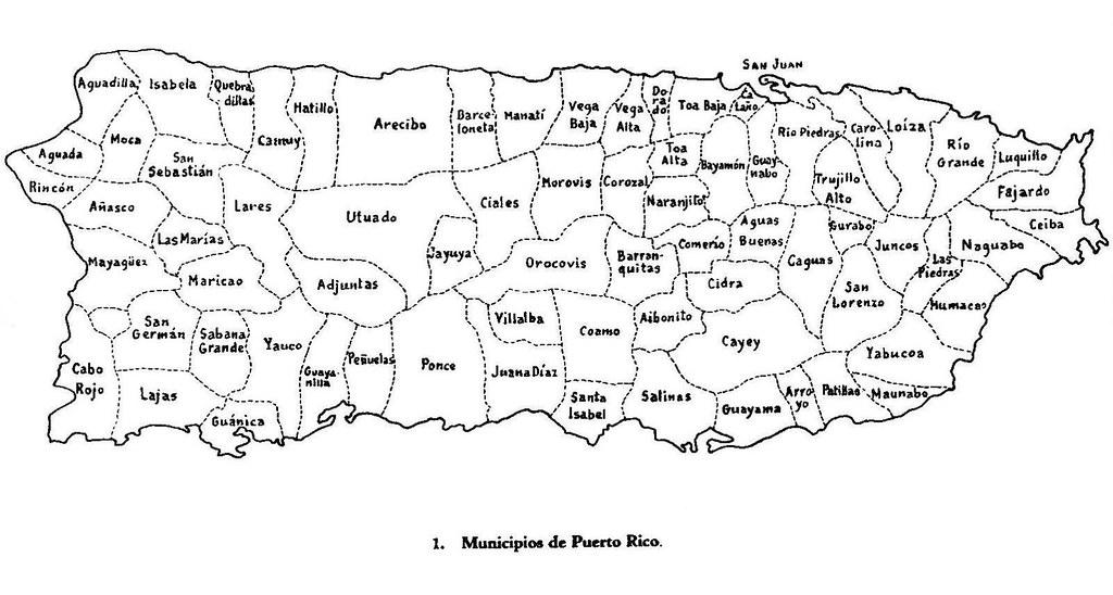 Mapa De Puerto Rico Online Map - Political map of puerto rico