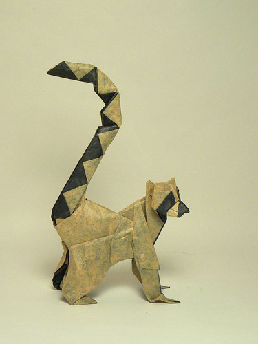 Ringed-tailed lemur | by Origami Roman