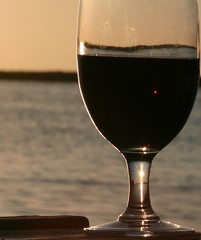 Sunset in a wine glass by supersaxtons