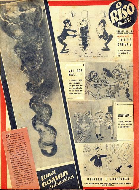 Século Ilustrado, No. 543, May 29 1948 - back cover