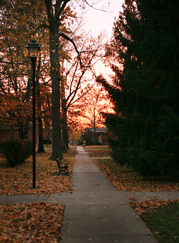 Sunrise | by Earlham College