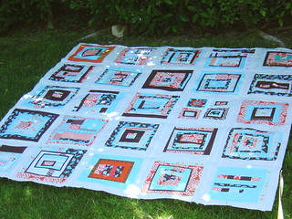 Finished Block Party Quilt Top | by alissahcarlton