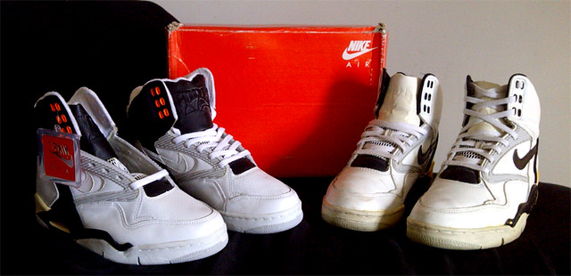 innovative design 79ee6 40c0a 1990 Nike Air Force V, 1989 Nike Air Delta Force STS High
