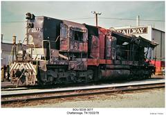 SOU SD35 3077 by Robert W. Thomson